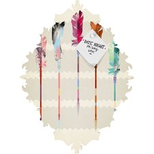 Iveta Abolina Feathered Arrows Baroque Magnet Board