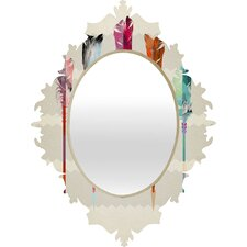 <strong>DENY Designs</strong> Iveta Abolina Feathered Arrows Baroque Mirror