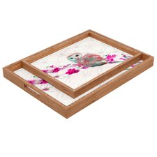 <strong>DENY Designs</strong> Hadley Hutton Quinceowl Rectangular Tray