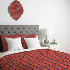<strong>DENY Designs</strong> Andrea Victoria Ahoy Anchors Duvet Cover Collection