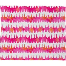 <strong>DENY Designs</strong> Betsy Olmsted Owl Feather Polyesterrr Fleece Throw Blanket