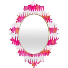 <strong>DENY Designs</strong> Betsy Olmsted Owl Feather Baroque Mirror