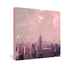 <strong>DENY Designs</strong> Bianca Green Stardust Covering New York Gallery Wrapped Canvas