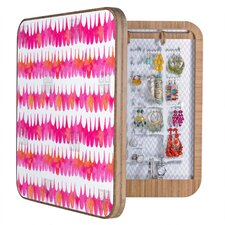 <strong>DENY Designs</strong> Betsy Olmsted Owl Feather Blingbox (Set of 4)