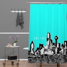 <strong>DENY Designs</strong> Bird Ave Woven Polyester Dallas Shower Curtain