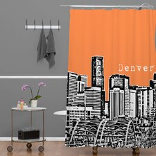 <strong>DENY Designs</strong> Bird Ave Woven Polyester Denver Shower Curtain