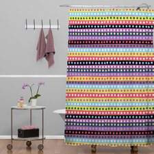 Khristian A Howell Polyester Valencia 4 Shower Curtain