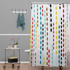 Khristian A Howell Woven Polyester Nolita Drops Shower Curtain