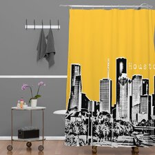 <strong>DENY Designs</strong> Bird Ave Woven Polyester Houston Shower Curtain