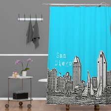 <strong>DENY Designs</strong> Bird Ave Woven Polyester San Diego Shower Curtain