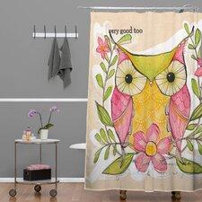 Cori Dantini Woven Polyester Very Good Shower Curtain