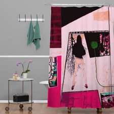 Randi Antonsen Polyester City 2 Shower Curtain