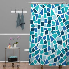 Khristian A Howell Woven Polyester Baby Beach Bum 6 Shower Curtain