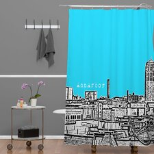<strong>DENY Designs</strong> Bird Ave Woven Polyester Ann Arbor Shower Curtain