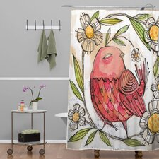 Cori Dantini Woven Polyester Turkey Shower Curtain