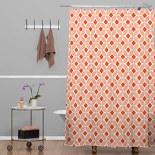 Caroline Okun Persimmon Polyester Shower Curtain
