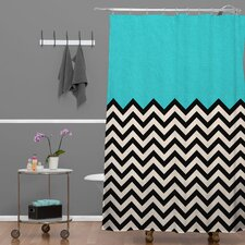 <strong>DENY Designs</strong> Bianca Woven Polyester Shower Curtain