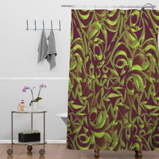 <strong>DENY Designs</strong> Wagner Campelo Polyester Abstract Garden Shower Curtain