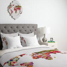 <strong>DENY Designs</strong> Bianca Green Its Your World Duvet Cover Collection