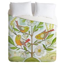 Cori Dantini Community Tree Duvet Cover