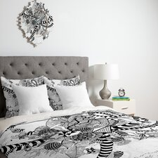 <strong>DENY Designs</strong> Iveta Abolina Black And White Play Duvet Cover Collection