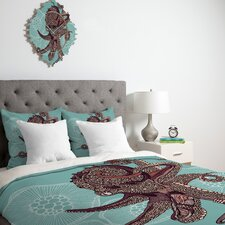 <strong>DENY Designs</strong> Valentina Ramos Octopus Bloom Duvet Cover Collection