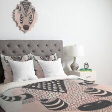 <strong>DENY Designs</strong> Wesley Bird Buffy Duvet Cover Collection
