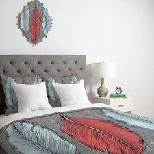 Wesley Bird Feathered Duvet Cover Collection