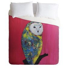 Clara Nilles Owl On Lipstick Duvet Cover Collection
