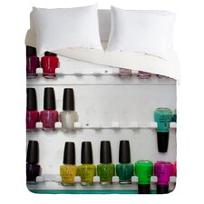 Bird Wanna Whistle Nail Polish Duvet Cover Collection