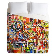 Robin Faye Gates It Came from Detroit Duvet Cover Collection