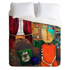 Robin Faye Gates with Bebe Duvet Cover Collection
