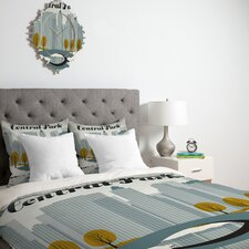 <strong>DENY Designs</strong> Anderson Design Group Central Park Snow Duvet Cover Collection