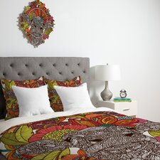 <strong>DENY Designs</strong> Valentina Ramos Arabella and The Flowers Duvet Cover Collection