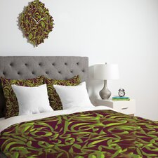 <strong>DENY Designs</strong> Wagner Campelo Abstract Garden Duvet Cover Collection