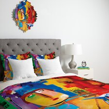 <strong>DENY Designs</strong> Robin Faye Gates Sylvia Needs Eggs Duvet Cover Collection
