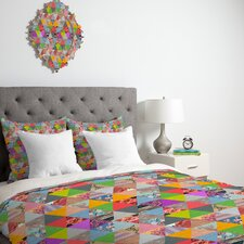 <strong>DENY Designs</strong> Bianca Green Lost in Pyramid Duvet Cover Collection