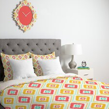 <strong>DENY Designs</strong> Jacqueline Maldonado Zig Zag Ikat Duvet Cover Collection