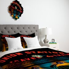 <strong>DENY Designs</strong> Bird Wanna Whistle Union Station Duvet Cover Collection