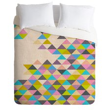 Bianca Green Completely Incomplete Microfiber Duvet Cover