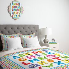 Andi Bird Alphabet Monsters Duvet Cover Collection