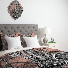 <strong>DENY Designs</strong> Romi Vega Bike Duvet Cover Collection