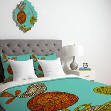 <strong>DENY Designs</strong> Valentina Ramos Bird in The Flower Duvet Cover Collection