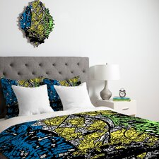 <strong>DENY Designs</strong> Romi Vega Bright Owl Duvet Cover Collection