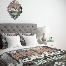 <strong>DENY Designs</strong> Wesley Bird Wander Duvet Cover Collection