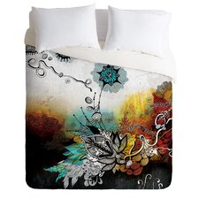 Iveta Abolina Frozen Dreams Microfiber Duvet Cover