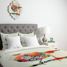 <strong>DENY Designs</strong> Iveta Abolina Little Bird Duvet Cover Collection