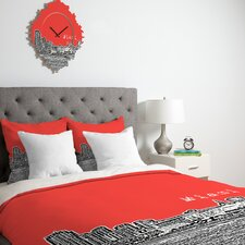 <strong>DENY Designs</strong> Bird Ave Miami Duvet Cover Collection
