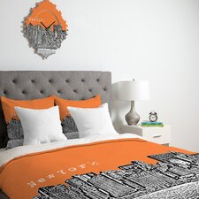 Bird Ave New York Duvet Cover Collection
