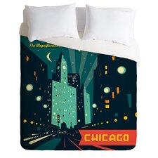 Anderson Design Group Chicago Mag Mile Duvet Cover Collection